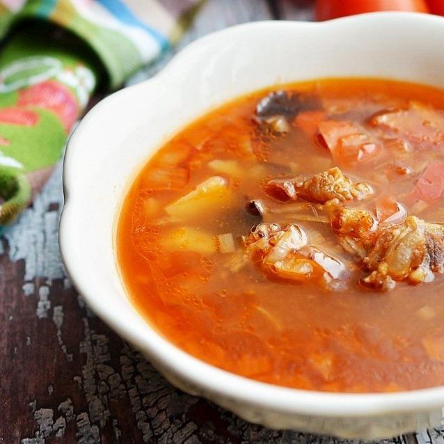 """Суп """"Бозбаш"""" классический   Бозбаш — это суп народов Кавказа, и в каждом реги…"""